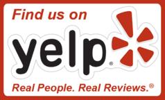 90+ YELP REVIEWS